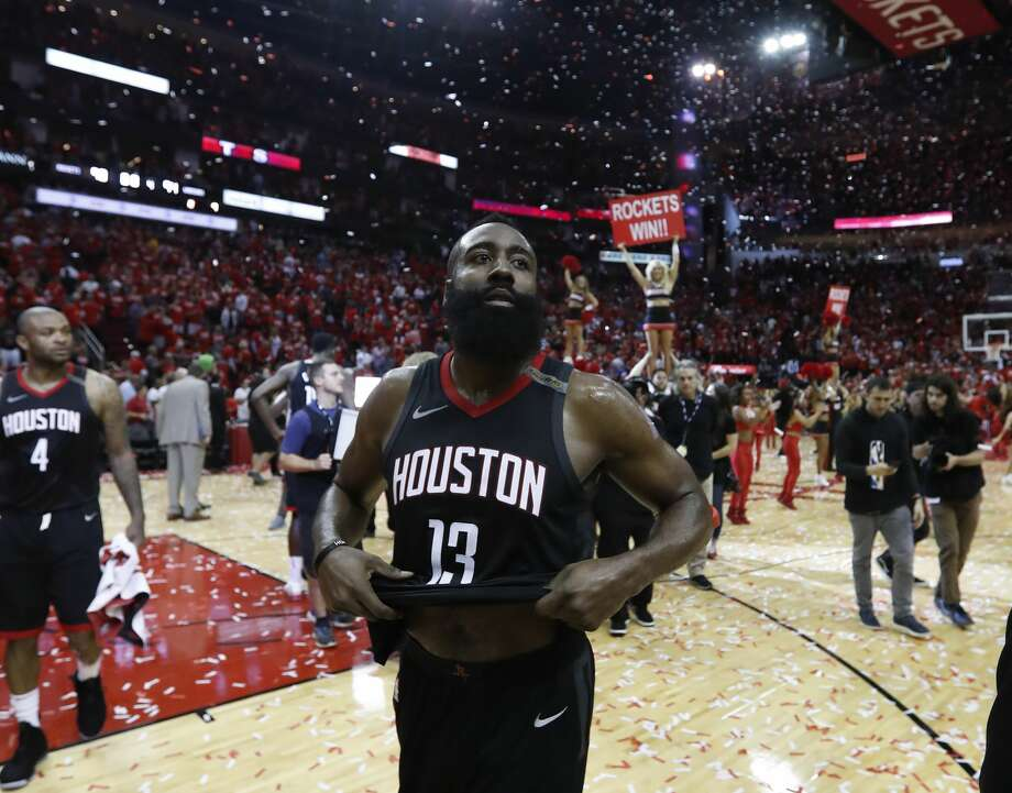 James Harden was the driving force behind the Rockets' 65-win season, easily the best in the NBA and in franchise history Photo: Brett Coomer/Houston Chronicle