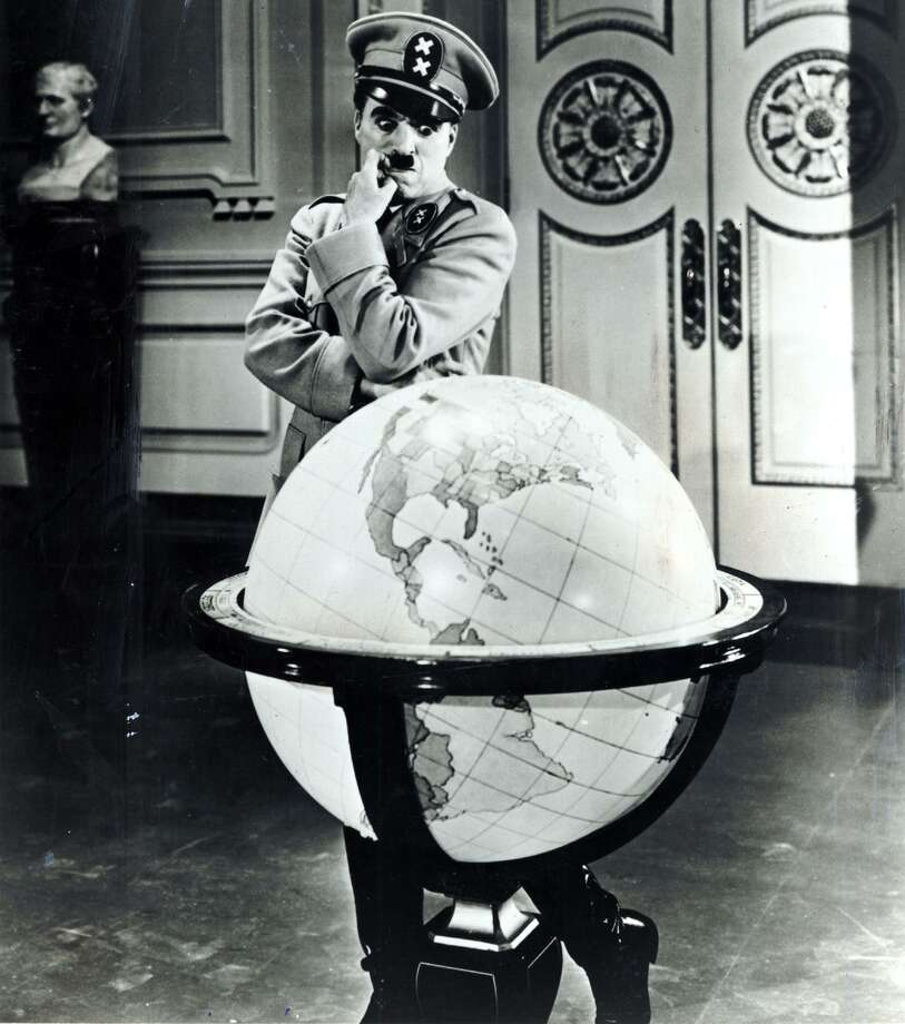 "Charlie Chaplin in ""The Great Dictator"" in 1940. Photo: File Photo / SFC"