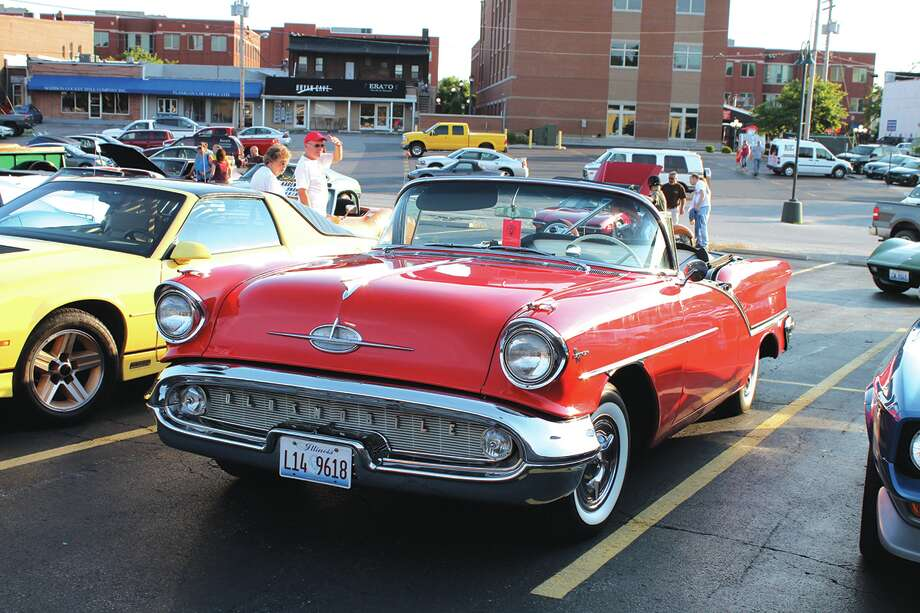 Classic cars are an annual a hit at Edwardsville's Route 66 Festival.