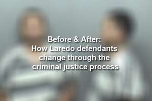 Keep scrolling to see the physical changes of Laredo defendants through the criminal justice process.