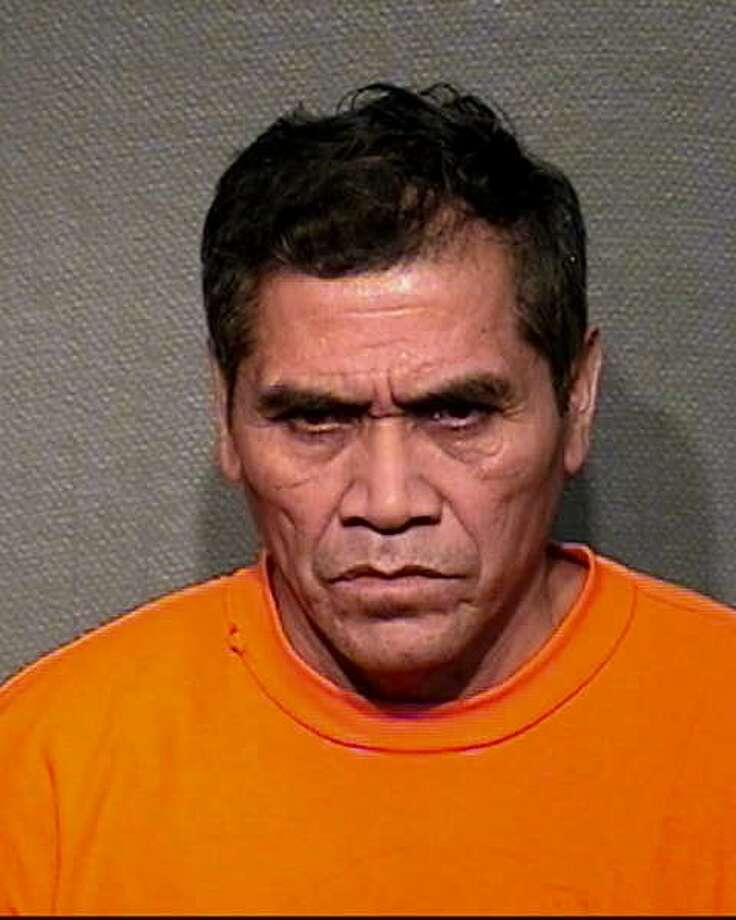 Juan Aguilus, pictured in 2007, is wanted in the 2017 murder of a coworker in southwest Houston. He is accused of assaulting the coworker to death with a crowbar. Photo: Houston Police Department