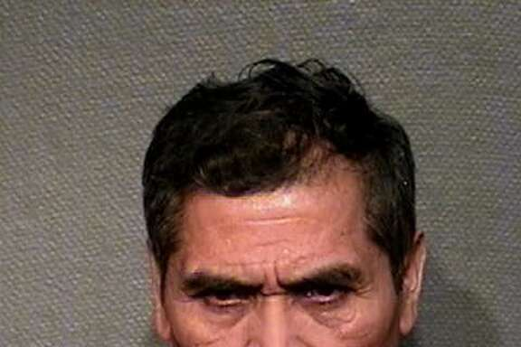 Juan Aguilus, pictured in 2007, is wanted in the 2017 murder of a coworker in southwest Houston. He is accused of assaulting the coworker to death with a crowbar.