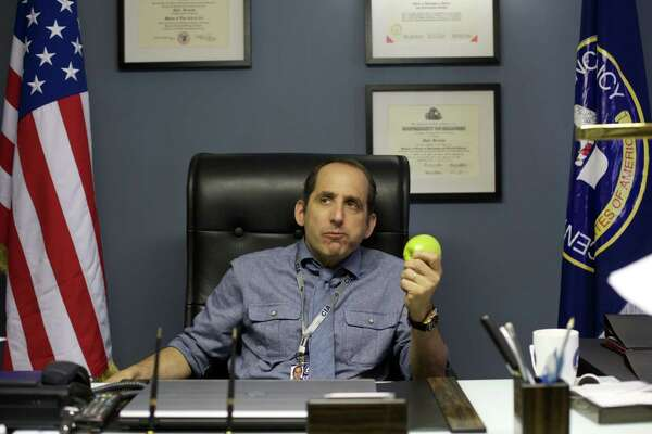 "American actor Peter Jacobson plays a CIA officer in Season 1 of ""Adaptation."""