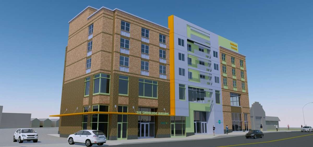Renderings of Regan Development Corp.'s project at 526 Central Ave. in Albany