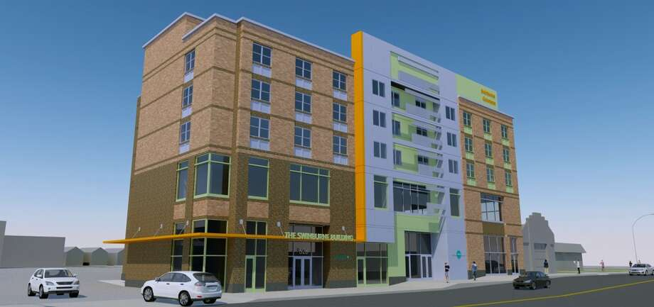 Renderings of Regan Development Corp.'s project at 526 Central Ave. in Albany Photo: Regan Development Corporation