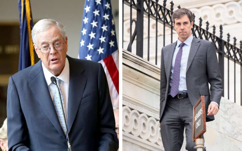 The Koch brother's political advocacy group is targeting Beto O'Rourke for his vote on a $1.3 million spending package in March. See what you need to know aboutBeto O'Rourke, Ted Cruz's Democrat challenger. Photo: Paul Zimmerman / Contributor - Bill Clark / Contributor