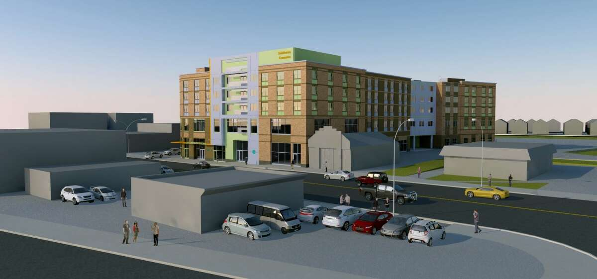 Renderings ofReganDevelopment Corp.'s project at 526 Central Ave. in Albany