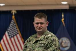 Petty Officer 2nd Class Cody  Shaw  of Cleveland is a hospital corpsman responsible for seeing sick people and providing  medical care.