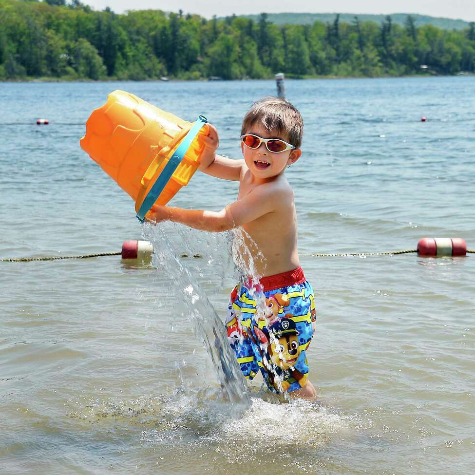 Looking for ways to cool off in the heat wave? Here are a few suggestions.