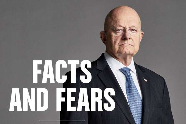 """Facts and Fears: Hard Truths From a Life in Intelligence,"" by James Clapper with Trey Brown."
