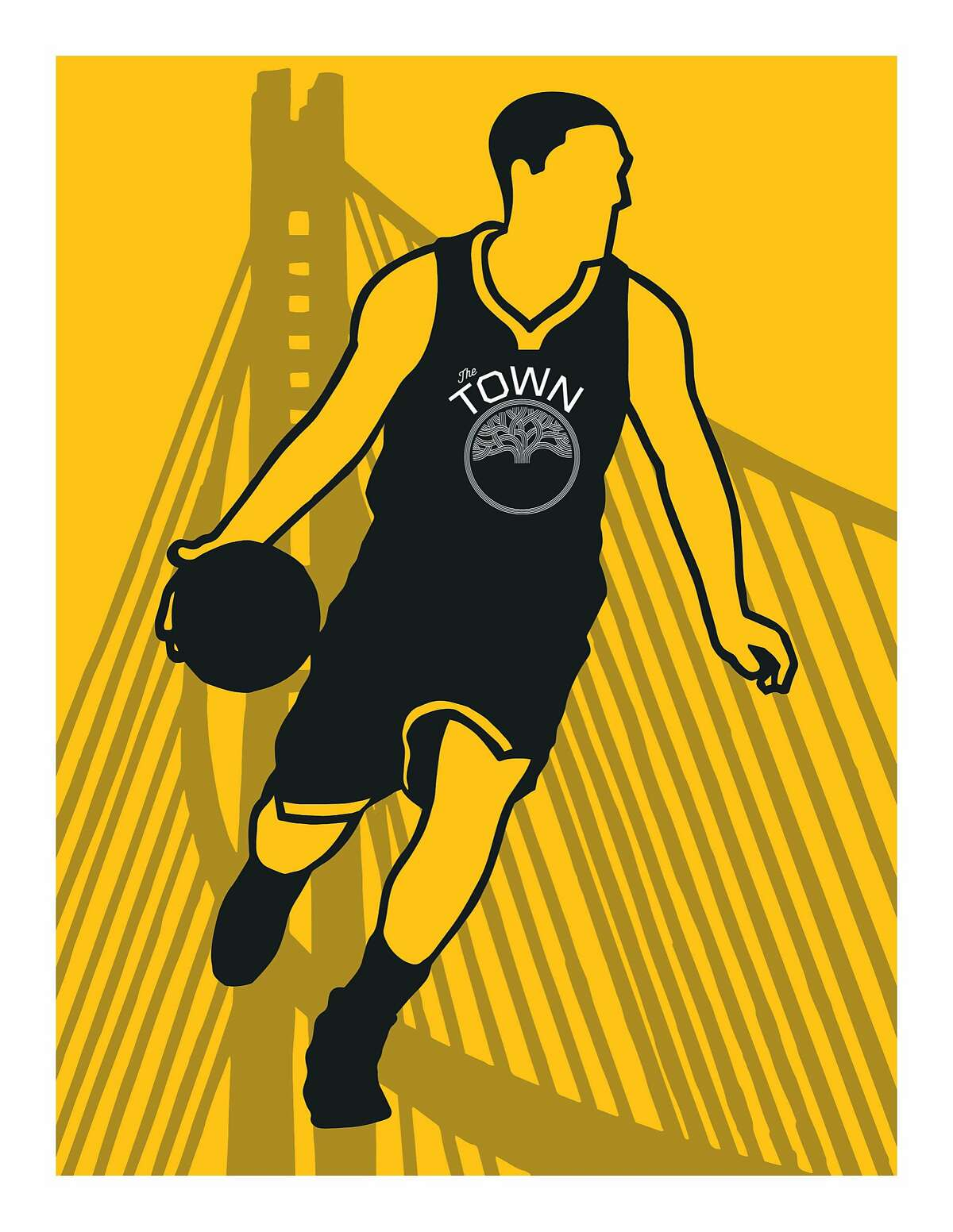 The Oakland Public Library's Golden State Warriors card.