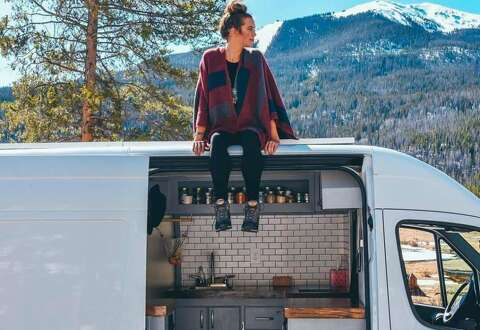 Sprinter Van Camper >> How To Build Out A Gorgeous Sprinter Camper Van On The Cheap Sfgate