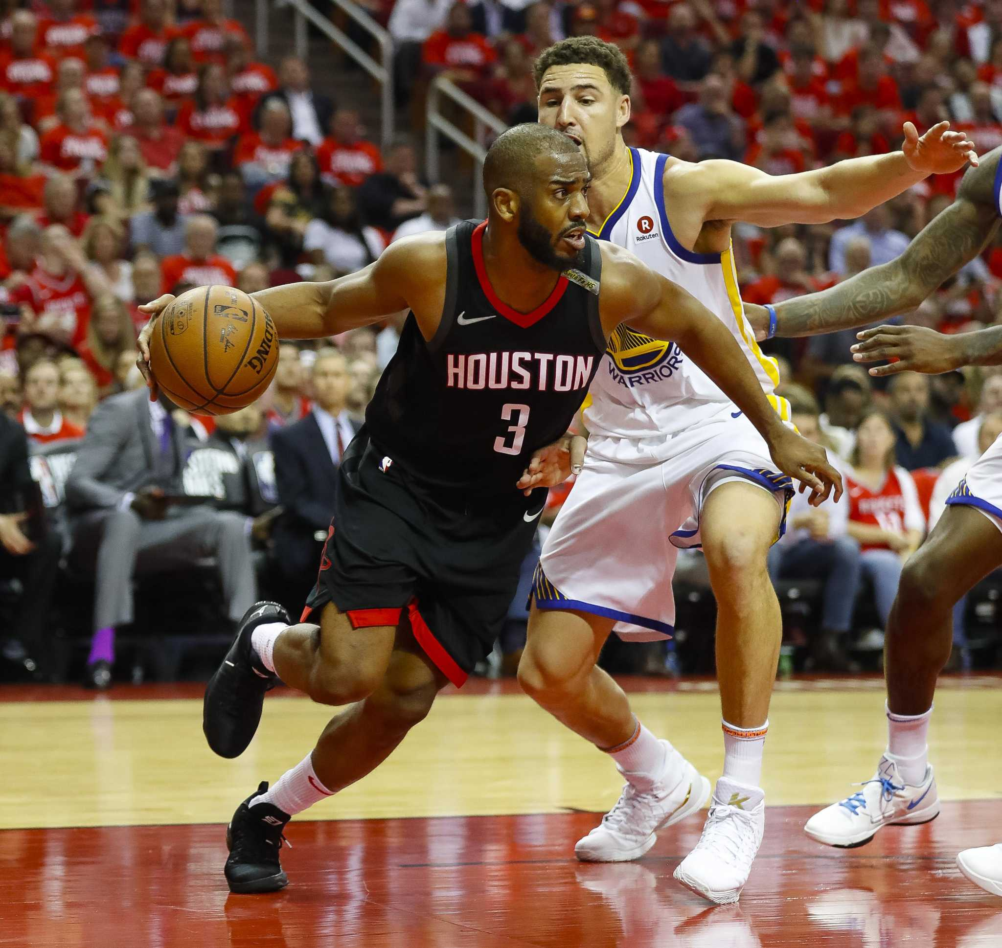 Warriors Come Out And Play Video Game: Rockets Regroup With Chris Paul Out For Game 6 Against The