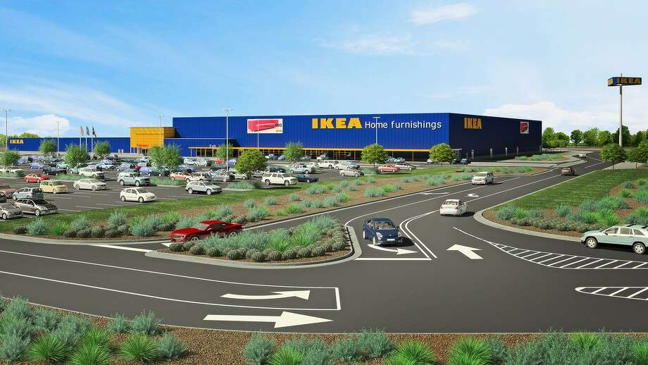 The 289,000-square-foot store at the intersection of Loop 1604 and Interstate 35 will open in early 2019, Ikea said in August. Photo: Courtesy File /San Antonio Express-News / mpfeiffer@express-news.net