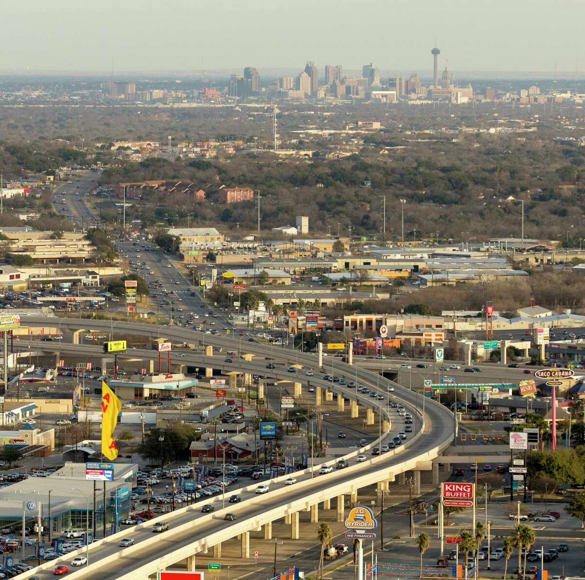 Investing in public transit will ease traffic congestion as San Antonio's population continues to grow.
