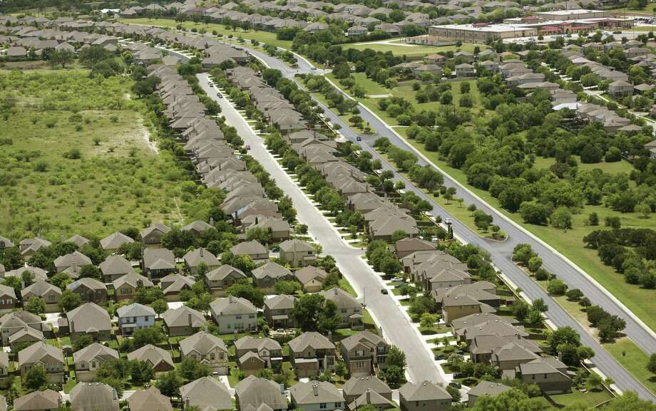Recently built subdivisions are seen May 23 near Culebra Road outside Loop 1604 on the city's expanding west side. There are ways to slow the values that the appraisal districts slap on your home, raising your taxes. Photo: William Luther /San Antonio Express-News / © 2018 San Antonio Express-News