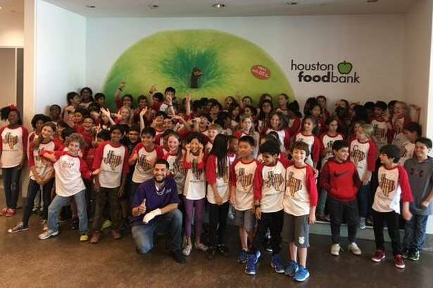 In the spirit of volunteerism and supporting the local community, the entire fifth-grade team at Roberts Elementary School, which includes Victoria Bahr, Virginia Berens,MauryBryant andAnneMoliver's classes, went on a field trip to the Houston Food Bank on Friday, May 18, where they packed over 3,600 meals in 3 hours. Roberts Elementary School is located at 6000 Greenbriar Drive in Houston.
