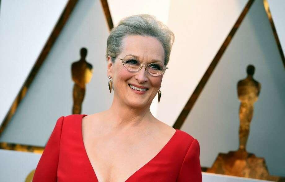 Meryl Streep Contribution: $5,400 Photo: Jordan Strauss / Associated Press / 2018 Invision