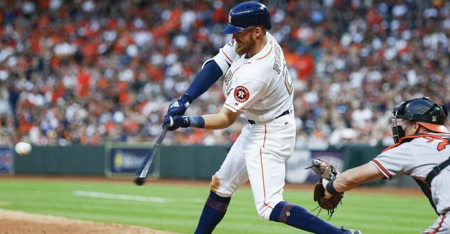 "PHOTOS: Astros game-by-game The Astros are hopeful Derek Fisher can begin a rehab assignment ""pretty soon"" after he's gradually increased his baseball activities while battling the throat reaction that's limited how much he can eat. Browse through the photos to see how the Astros have fared through each game this season. Photo: Brett Coomer/Houston Chronicle"