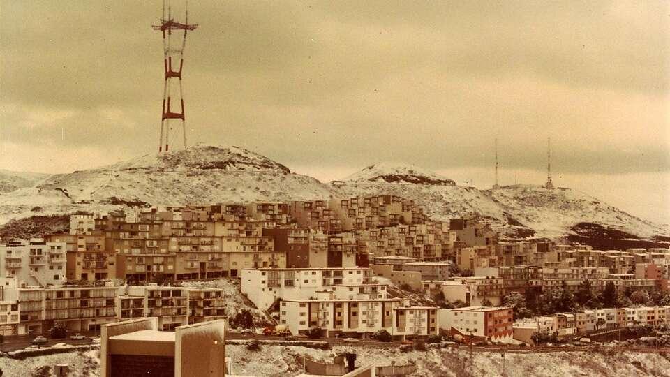 S.F. Snow Day 1976