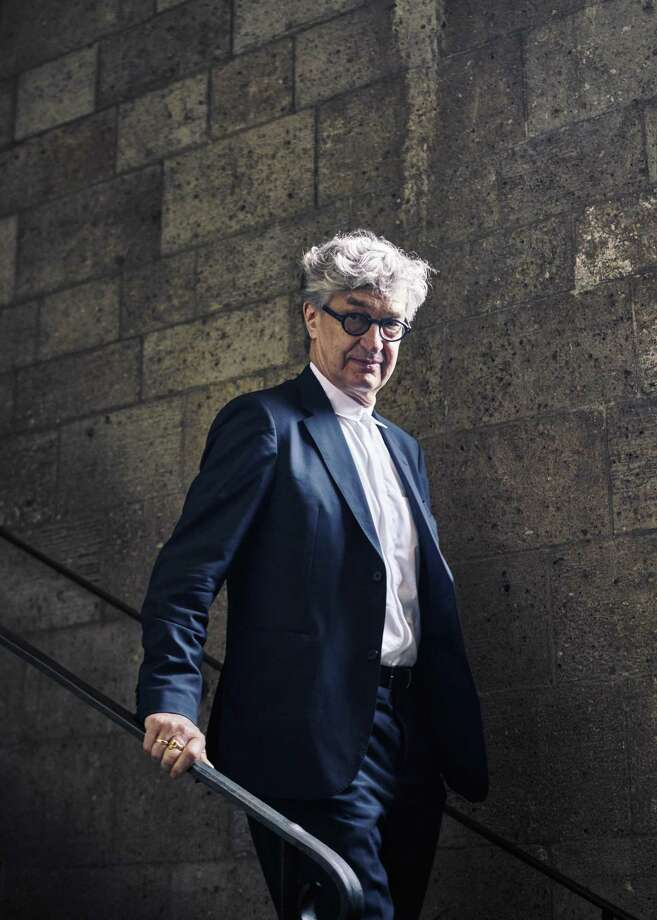 """Wim Wenders at the Cloisters, the Metropolitan Museum of Art's serene home for religious art in Upper Manhattan, on May 16, 2018. His latest film, """"Pope Francis: A Man of His Word,""""is a documentary exploring the life and philosophy of the Argentine pontiff.  (An Rong Xu/The New York Times) Photo: AN RONG XU, STR / NYT / NYTNS"""