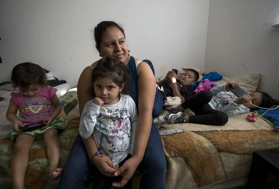 Once parents are separated from their children, it can be difficult to find them. Silvia Torres crossed the border in a different group from her husband who was carrying their twin daughters. The husband was detained and deported, while the twins were placed in a foster shelter. Torres did not know where the twins were until a lawyer in the detention facility she was detained tracked them down two weeks later. They are now in Houston.  ( Godofredo A. Vasquez / Houston Chronicle ) Photo: Godofredo A. Vasquez, Houston Chronicle