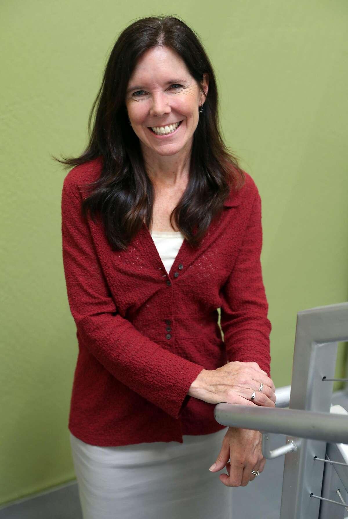 Marin Clean Energy CEO Dawn Weisz in San Rafael, CA on Wednesday, May 23, 2018.