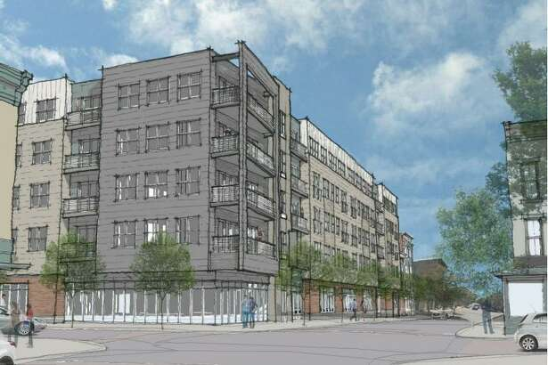 Rosenblum Companies plans to build a mixed-use building at the former KeyBank site in Troy.