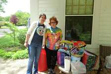 Hearthside Quilters members delivered 126 pillowcases and 20 quilts to the Hole In the Wall Gang camp on May 20.