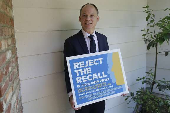 Two years after making national headlines for his sentence in a sexual assault case, Judge Aaron Persky was recalled by the voters of Santa Clara County. (AP Photo/Jeff Chiu)