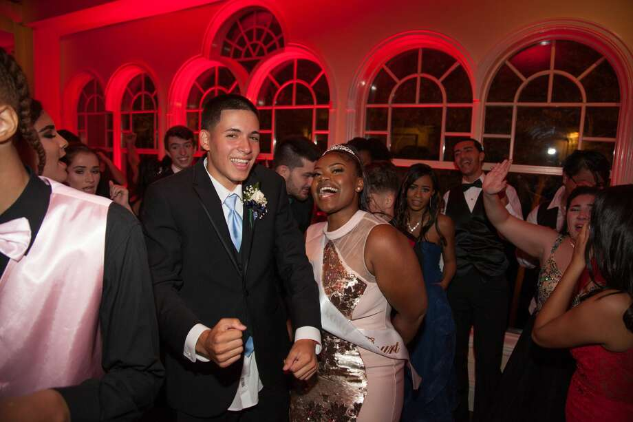 Notre Dame Catholic High School in Fairfield held its junior/senior prom at The Waterview in Monroe on May 25, 2018. The senior class graduates June 1. Were you SEEN at prom? Photo: Christina Rodrigues