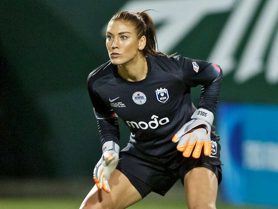 Domestic violence charges against former soccer star Hope Solo were dropped Wednesday. Photo: Craig Mitchelldyer / Associated Press 2015