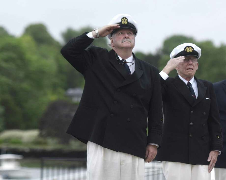 At 8 a.m. Monday, the American Legion Post 29 will hold its annual dockside observance of Memorial Day at Indian Harbor Yacht Club, 170 Steamboat Road, Greenwich. Photo: File / Tyler Sizemore / Hearst Connecticut Media / Greenwich Time