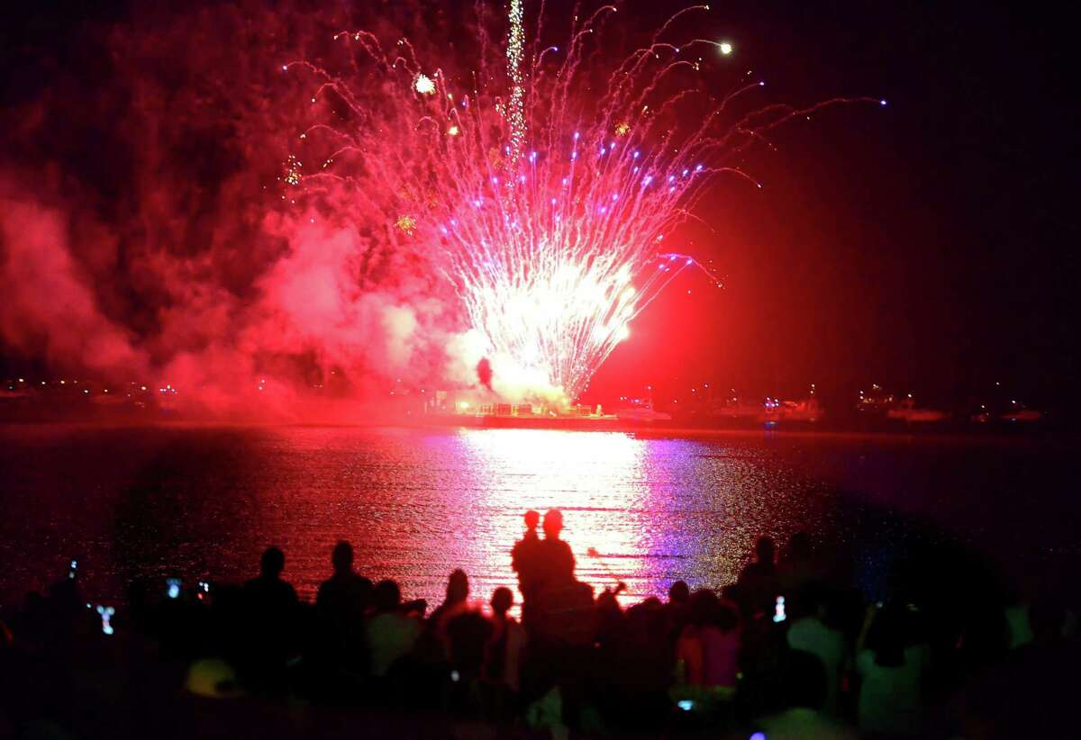 Stamford Mayor David Martin is considering cutting this year's Fourth of July fireworks event at Cummings Park due to lack of funding.