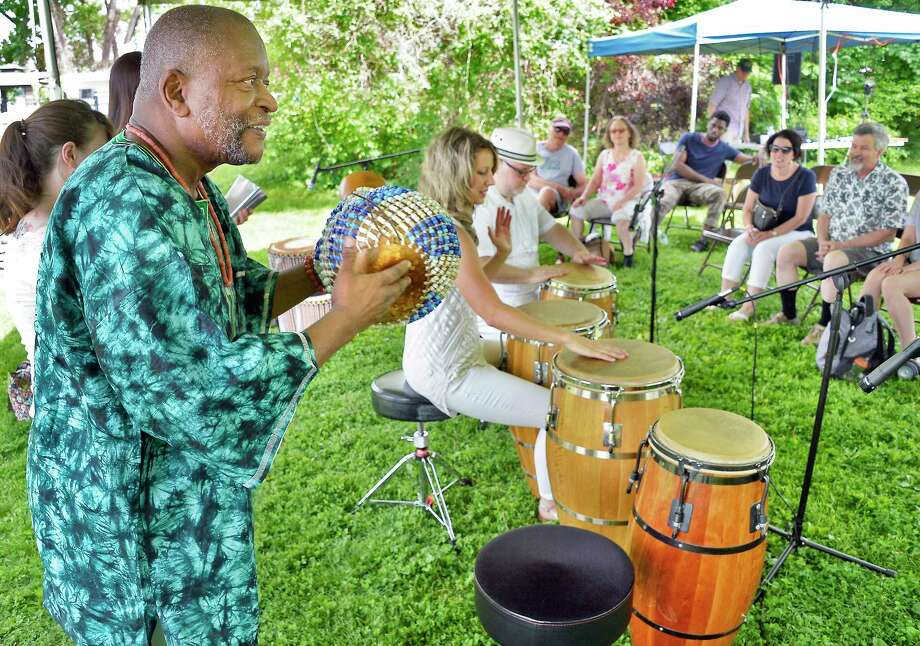 Get ready for to Wake Up the Green at New Haven's Spring Festival, complete with live music and tons of activities for the kids, on Saturday. Find out more. Photo: John Carl D'Annibale / 20043835A