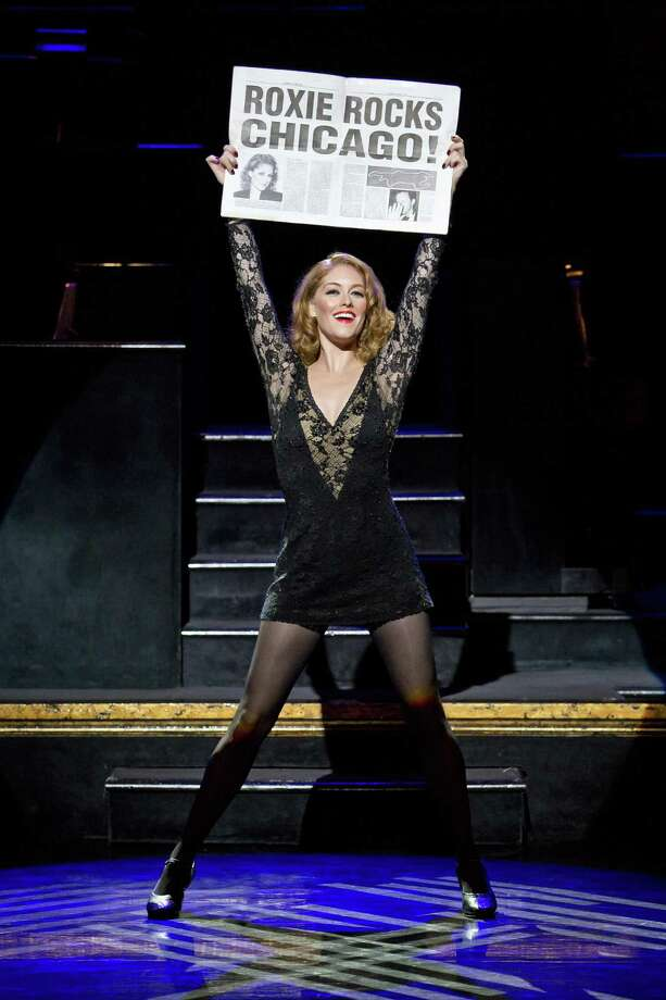 """Dylis Croman as Roxie Hart in """"Chicago."""" Photo: Courtesy Of Jeremy Daniel"""