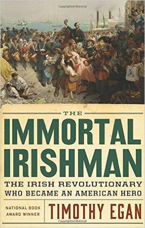 """The book cover of """"Immortal Irishman."""" Photo: Courtesy Of Quinnipiac University"""