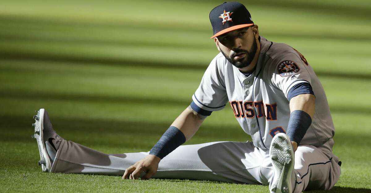PHOTOS: Astros game-by-game Manager A.J. Hinch hinted he'd like to, at some point, incorporate Marwin Gonzalez in right field. Browse through the photos to see how the Astros have fared through each game this season.