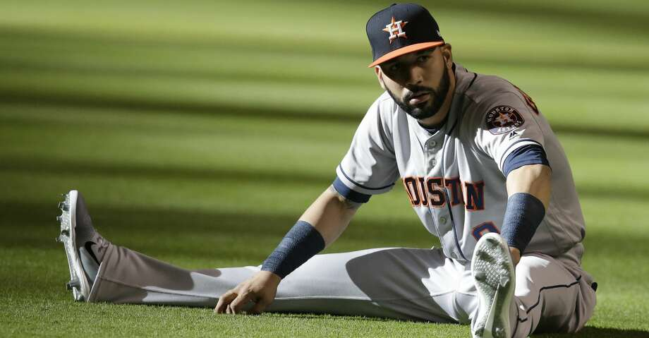 PHOTOS: Astros game-by-game Manager A.J. Hinch hinted he'd like to, at some point, incorporate Marwin Gonzalez in right field. Browse through the photos to see how the Astros have fared through each game this season. Photo: Rick Scuteri/Associated Press