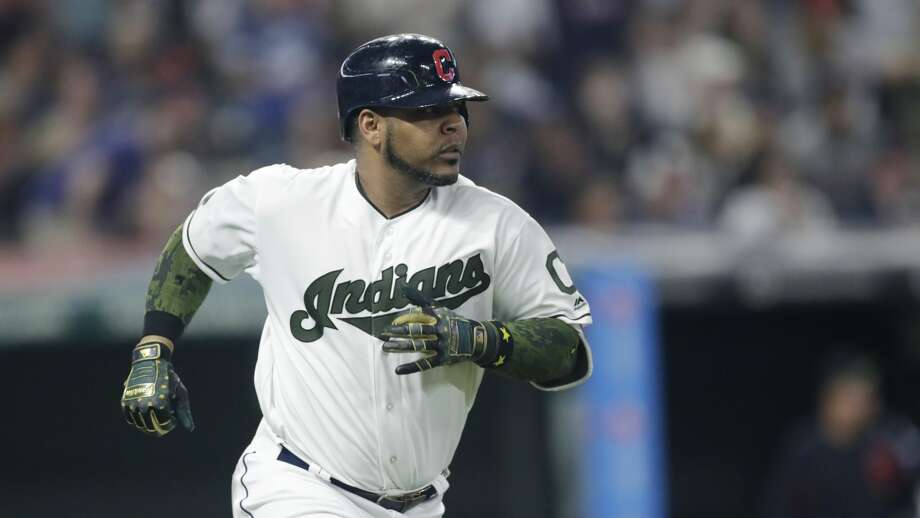 The Seattle Mariners acquired veteran first baseman/designated hitter Edwin Encarnacion from the Cleveland Indians, general manager Jerry Dipoto announced Thursday.  Photo: Tony Dejak/Associated Press