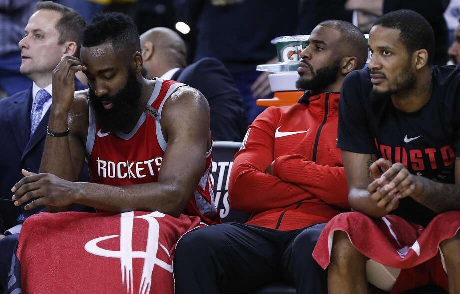 c712dcd8bc52 Rockets  Chris Paul ruled out for Game 7 vs. Warriors - SFGate