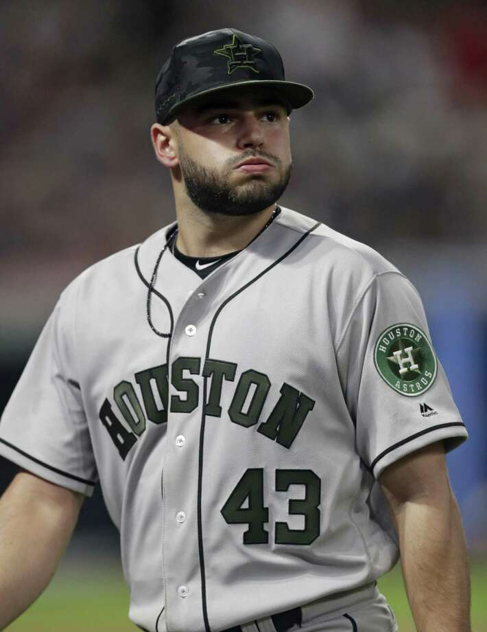 Astros starter Lance McCullers Jr. gave up seven earned runs in the Indians' win Saturday to fall to 6-3 on the season. Photo: Tony Dejak, STF / Associated Press / AP 2018