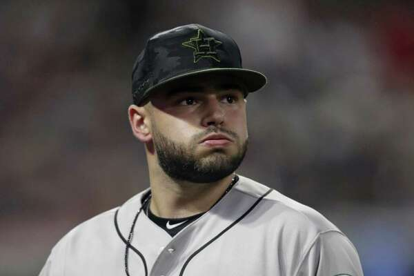 Astros starter Lance McCullers Jr. gave up seven earned runs in the Indians' win Saturday to fall to 6-3 on the season.