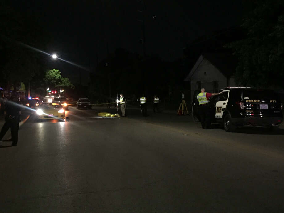 San Antonio police say Alejandro DeHoyos, 53, was fatally struck by a car Friday night, May 25, 2018, while attempting to cross a West Side street. Photo: Jessica Del Valle, Express-News