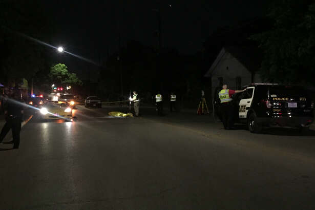 San Antonio police say Alejandro DeHoyos, 53, was fatally struck by a car Friday night, May 25, 2018, while attempting to cross a West Side street.