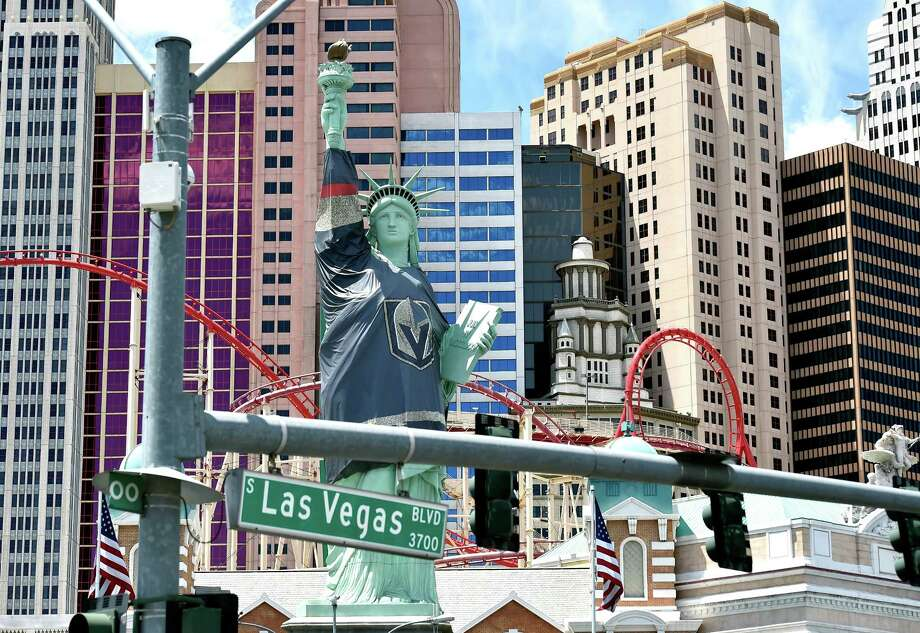 Las Vegas, shaken by tragedy, finds an unlikely rallying point: Its
