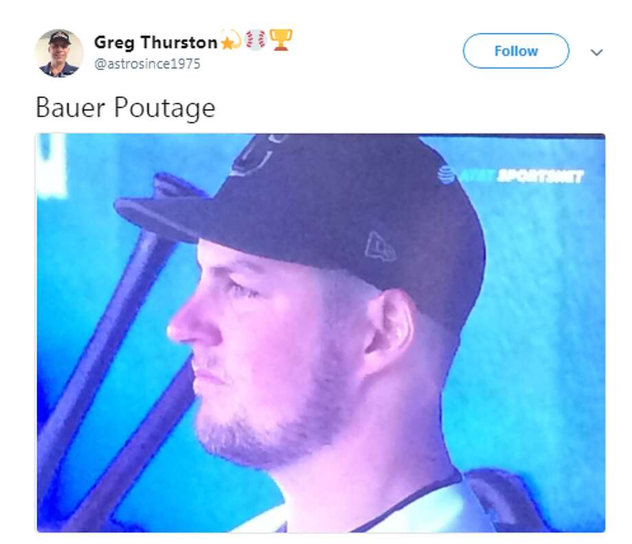 Source: TwitterBrowse through the photos for more Tweets from the Indians-Astros game. Photo: Source: Twitter