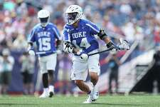 Duke's Justin Guterding leads the nation with 64 goals.
