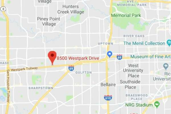 A fatal crash was reported at 5 p.m. Sunday in the 8500 block of Westpark.