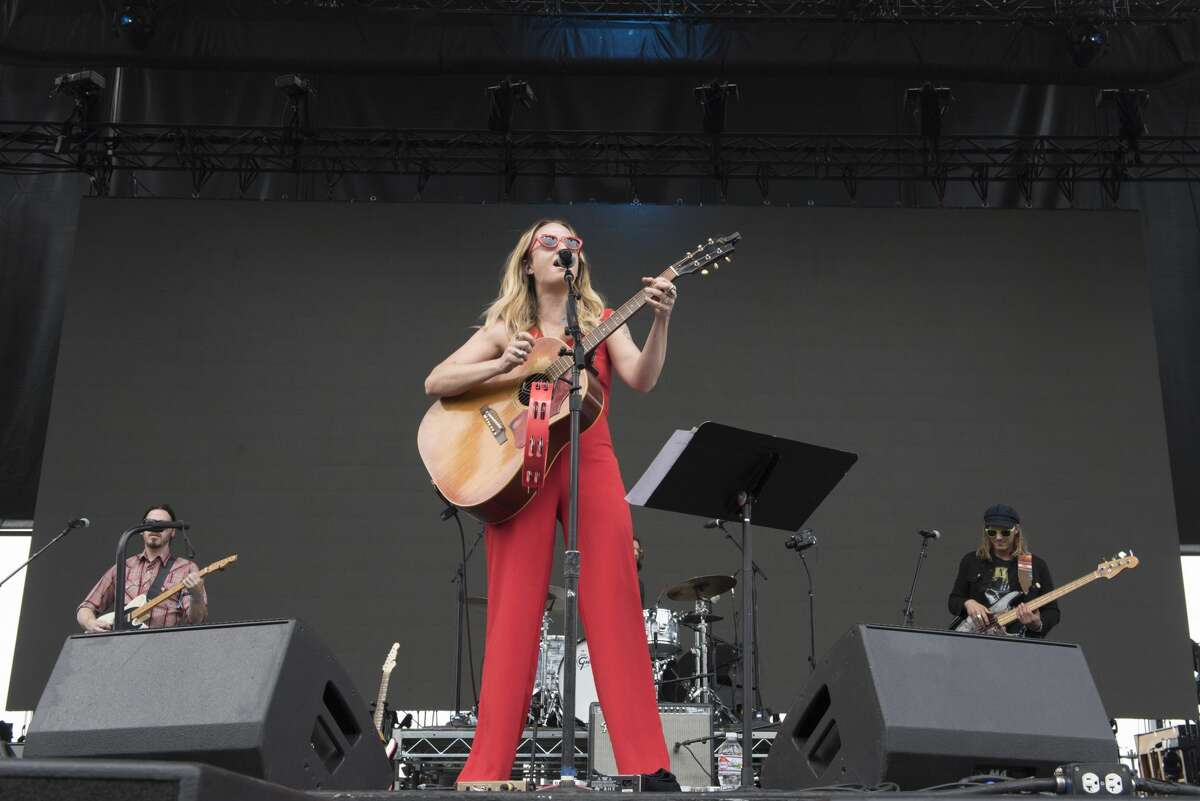 GEORGE, WA - MAY 25: Margo Price performs live on stage during Sasquatch! Festival at Gorge Amphitheatre on May 25, 2018 in George, Washington. (Photo by Jim Bennett/Getty Images)